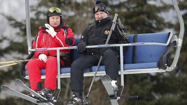 Путин и Лукашенко караха заедно ски в Сочи (снимки)