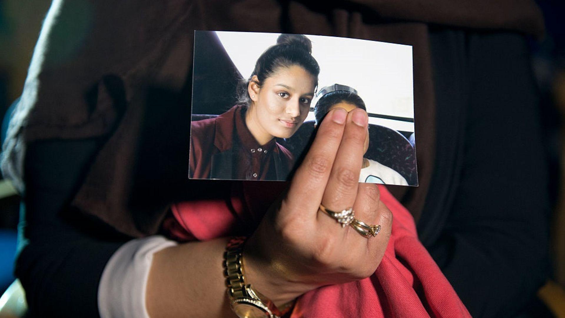 Починало е бебето, родено от лишената от британско гражданство джихадистка Шамима Бегум