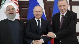 """Путин, Ердоган и Рохани обсъдиха как да ликвидират """"Ан Нусра"""" в Идлиб"""