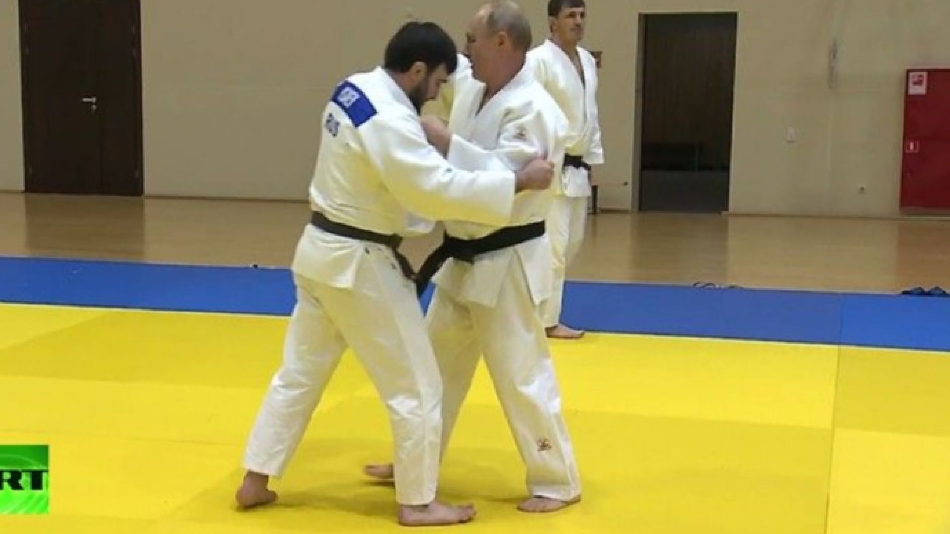 Путин се контузи на тренировка с джудистите в Сочи (видео)
