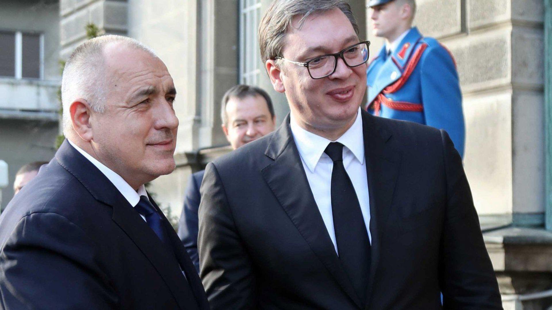 Бойко Борисов получи най-високото държавно отличие на Сърбия (снимки)
