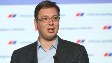 """Вучич: Ще построим """"Турски поток"""" на сръбска територия"""