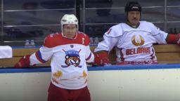 """""""Тигрите"""" Путин и Лукашенко играха хокей срещу """"Мечките"""" (видео)"""