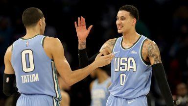 САЩ победи Останалия свят в баскетболно шоу
