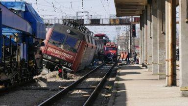 Локомотивът на дерайлиралия влак в Пловдив е същият от Хитрино