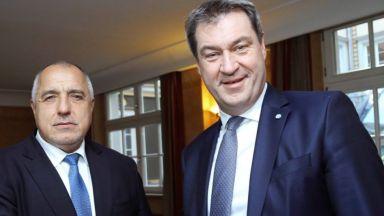 Борисов в Мюнхен: Газов хъб, силна отбрана, надеждна граница