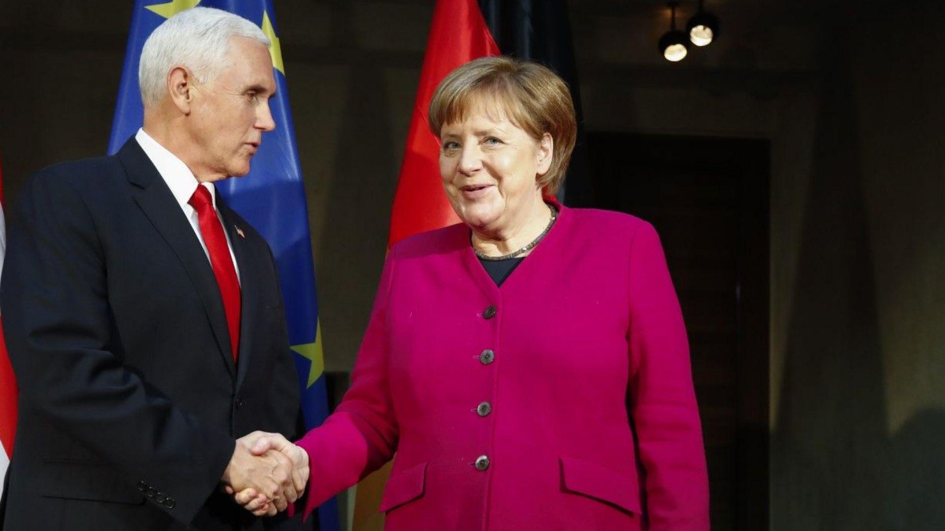 """САЩ подложиха Германия на натиск против """"Северен поток-2"""""""