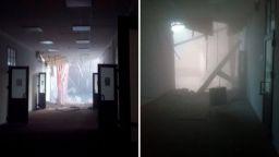 Университетска сграда се срути частично в Санкт Петербург
