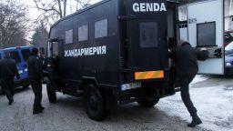 Полиция и жандармерия блокираха Благоевград, има задържани