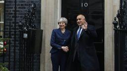 """Борисов разговаря с Мей за Брекзит и случая """"Гебрев"""""""