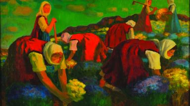 Александър Петров с изложба в Националната галерия