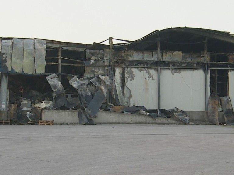Войводиново пред екокатастрофа: 1000 тона месо гние в изгорелия завод