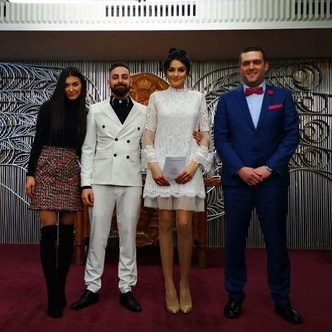 Сватбата на Марина Войкова и Давид Бонев