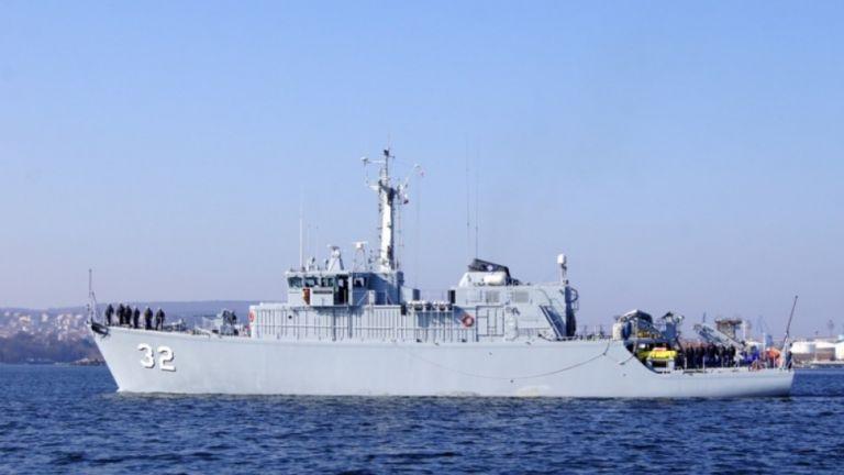 """Минният ловец """"Цибър"""" отплава за """"Посейдон-2019"""" на НАТО"""