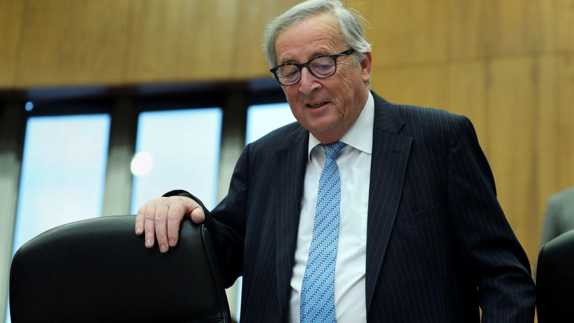 """Юнкер: """"Никой няма да се противопостави""""  на отлагане на Брекзит"""