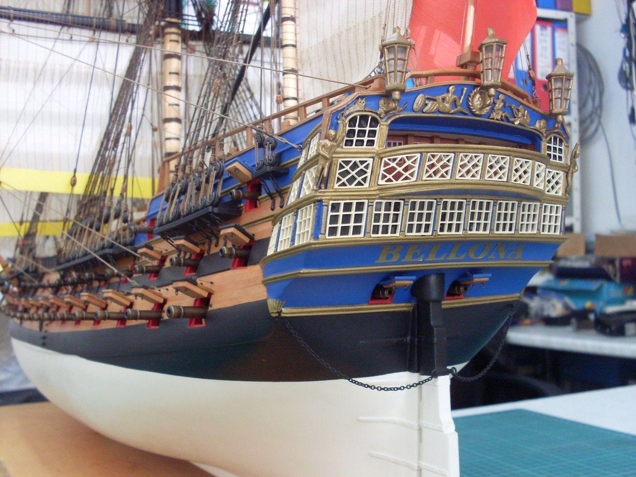 Настолните копия на действителни кораби не могат да се разглеждат отделно и затова при тях се провеждат изложби с конкурсен характер