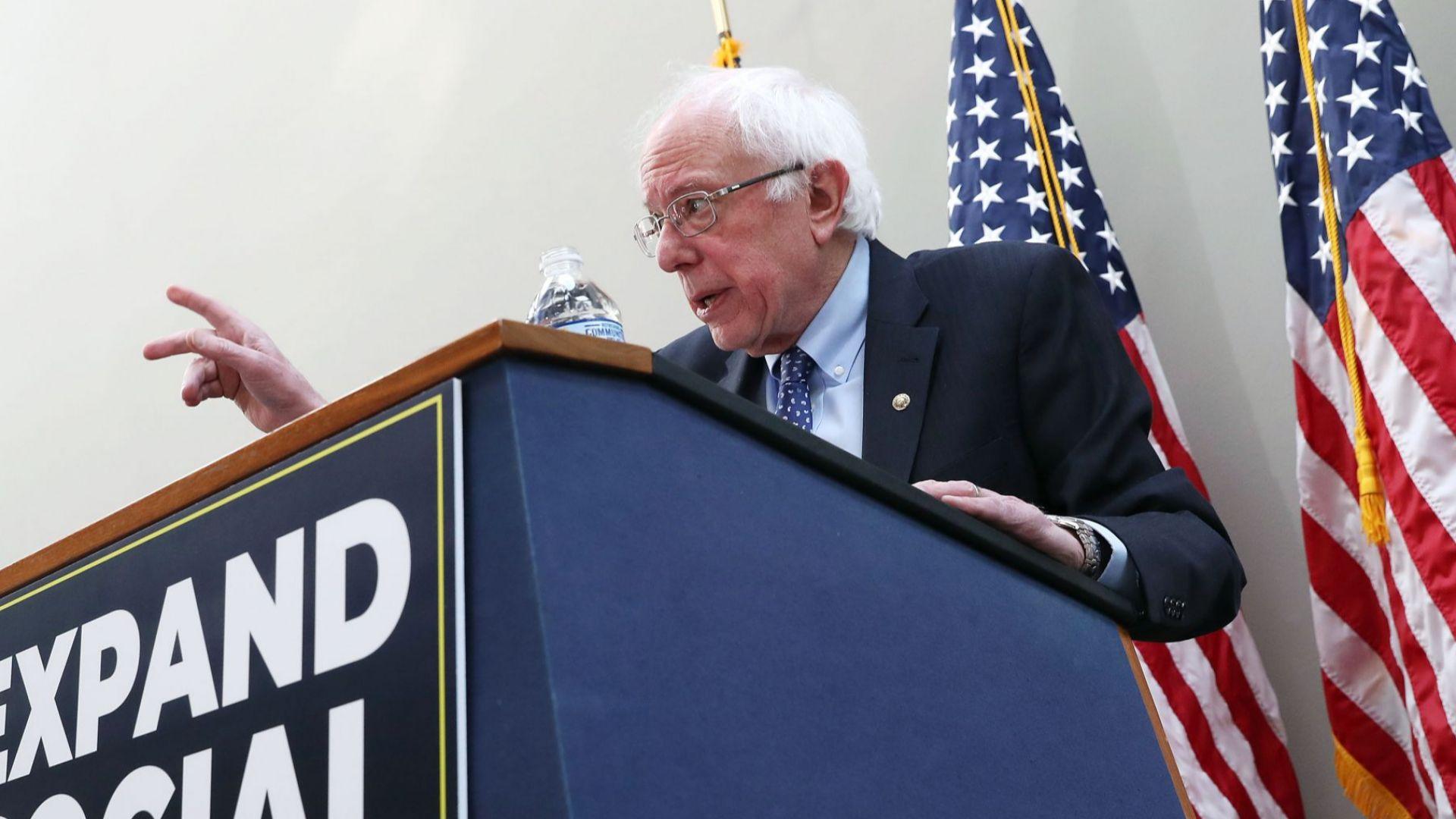 Бърни Сандърс се кандидатира отново за президент на САЩ