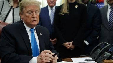 Тръмп нареди на Пентагона създаване на космически войски