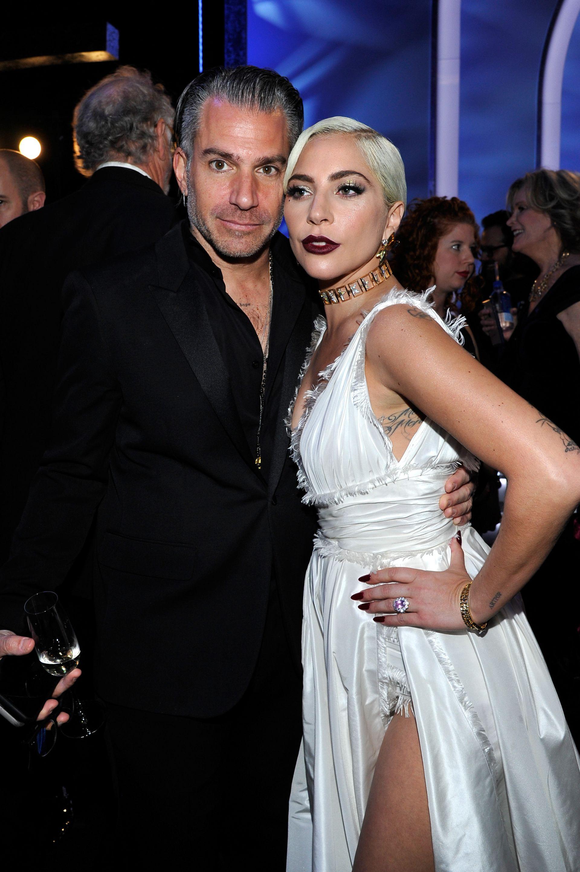 Лейди Гага с бившия си годеник Кристиан Карино