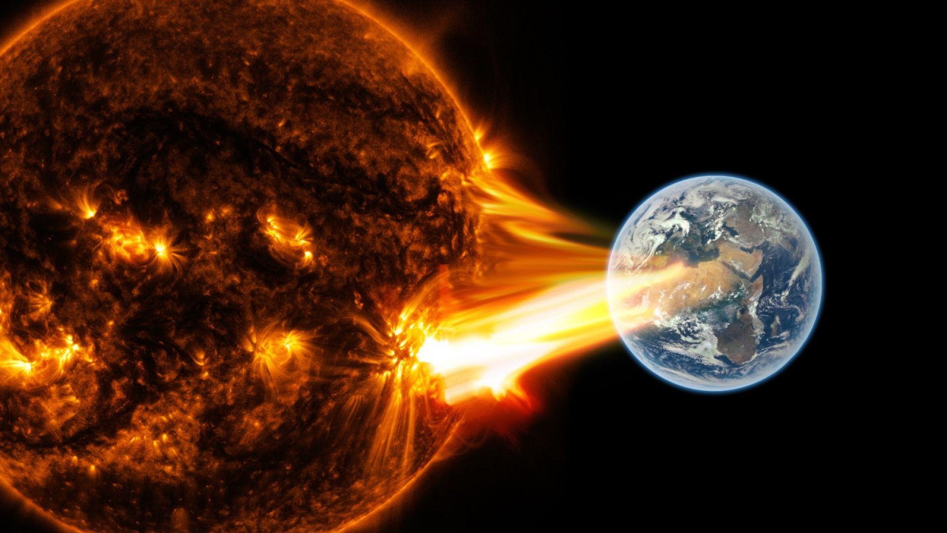 Огромна коронарна дупка се отвори на Слънцето, възможни са геомагнитни бури