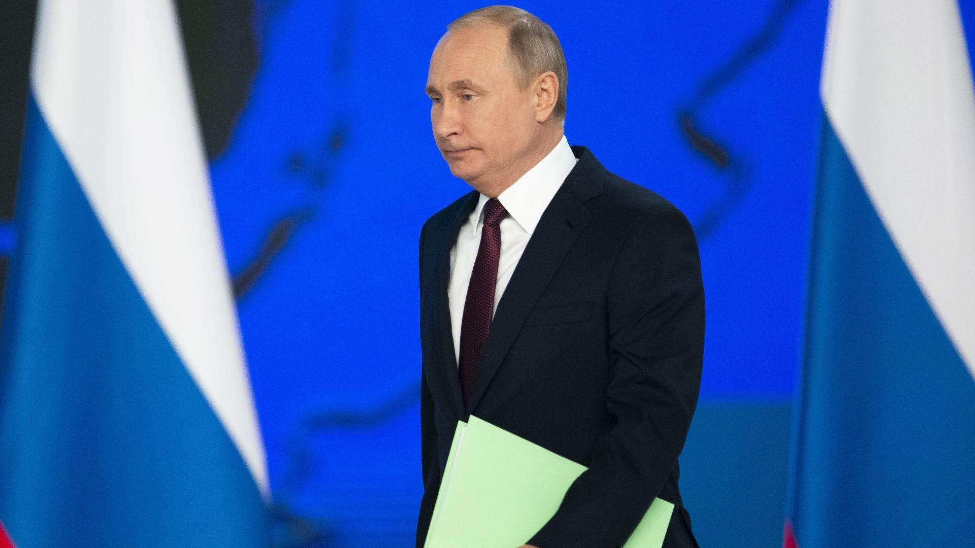 Русия ще насочи ракети и към САЩ, ако е застрашена, обяви Путин