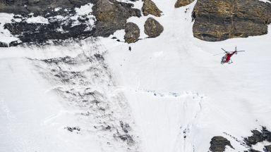 Ски патрул е загинал от лавината в ски курорта Кран Монтана (видео и снимки)