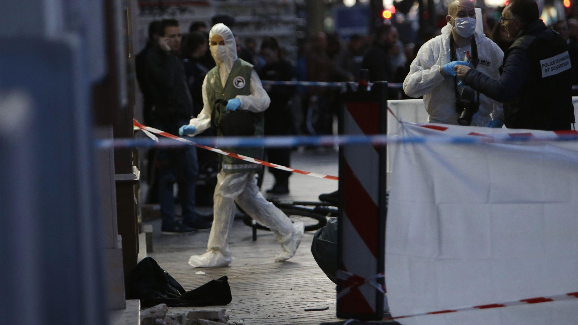 Снимка: Нападателят в Марсилия бил психично болен