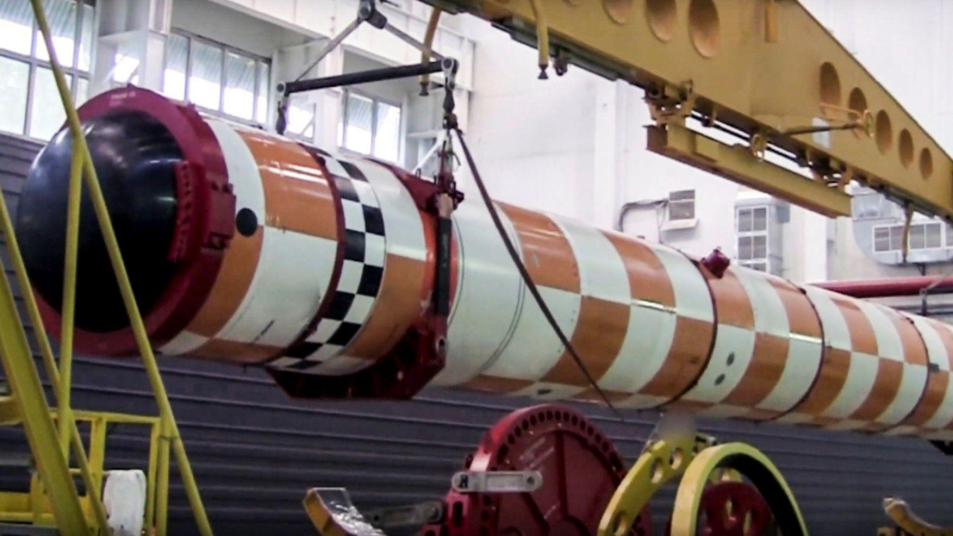 Руското ядрено торпедо било на 30 години?