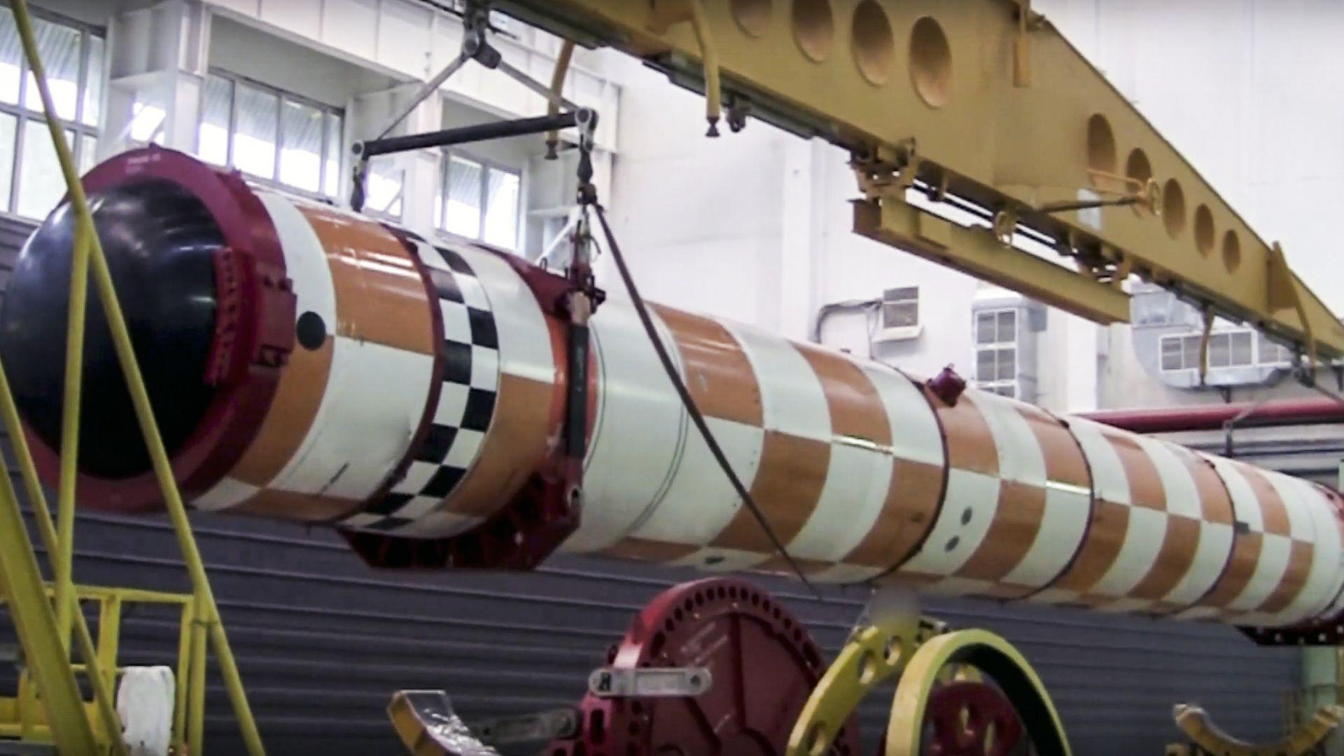Снимка: Русия показа най-новото си оръжие: подводен дрон с ядрен двигател