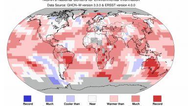 Януари 2019 - трети най-топъл в историята