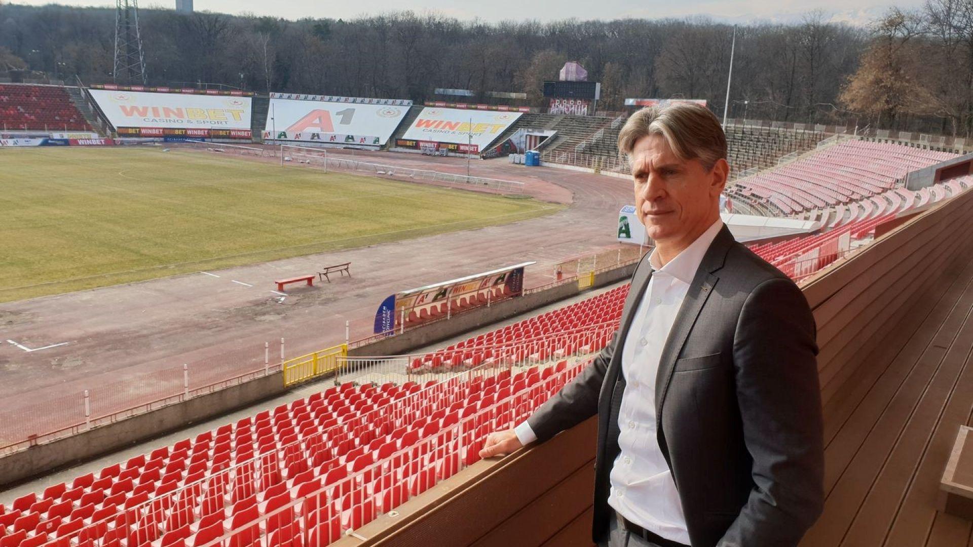 Италиански шеф в ЦСКА с откровено мнение за нивото на българския футбол
