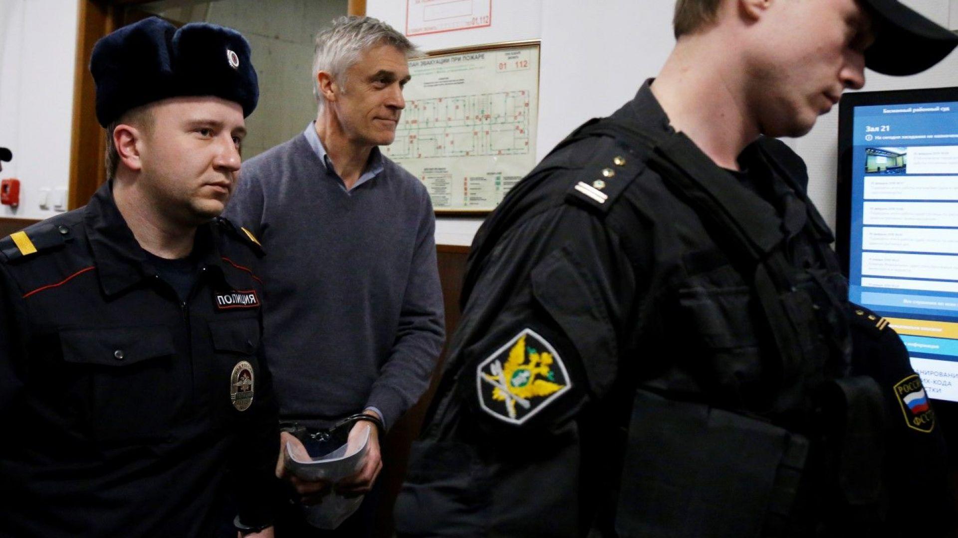 Русия официално обвини амерканеца Майкъл Калви в измама, САЩ протестира
