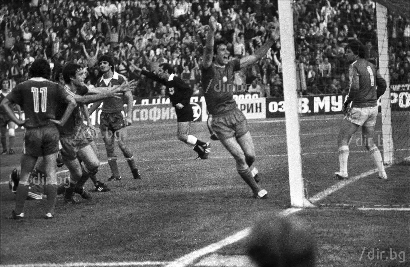Октомври 1980 г., Спас Джевизов бележи в мача (2:2), а той е герой за ЦСКА и при 3:2 по-рано същата година с 2 попадения