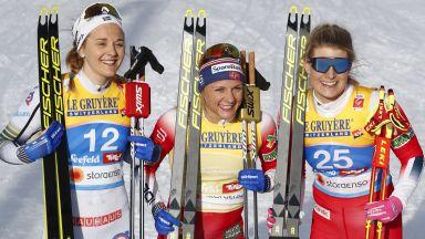 """""""Кралят е мъртъв, да живее Кралят"""" - Норвегия пак е хегемон на Световното по ски бягане (снимки)"""