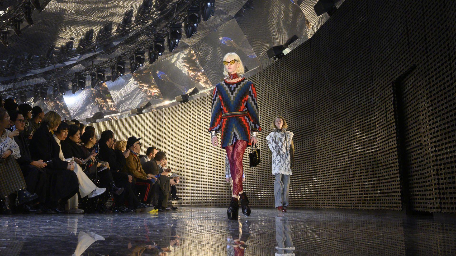 """Дефиле на """"Гучи"""" откри Седмицата на модата в Милано"""