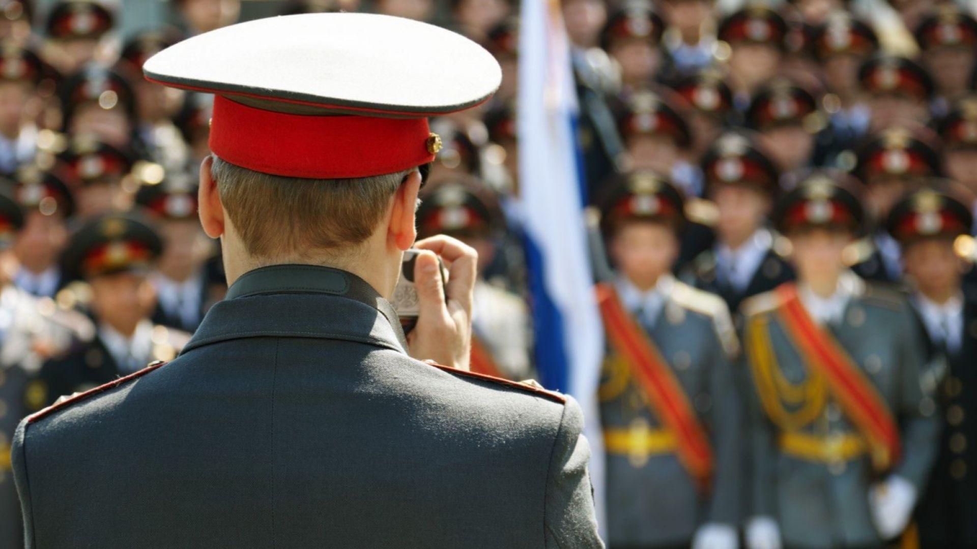 Снимка: Руската армия с девети армейски генерал