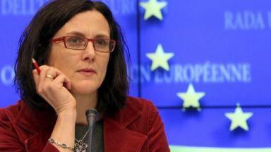Търговско споразумение между ЕС и САЩ може да има до октомври