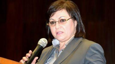 Нинова към управляващите: Променете закона и замразете депутатските заплати - който не работи, не получава нищо
