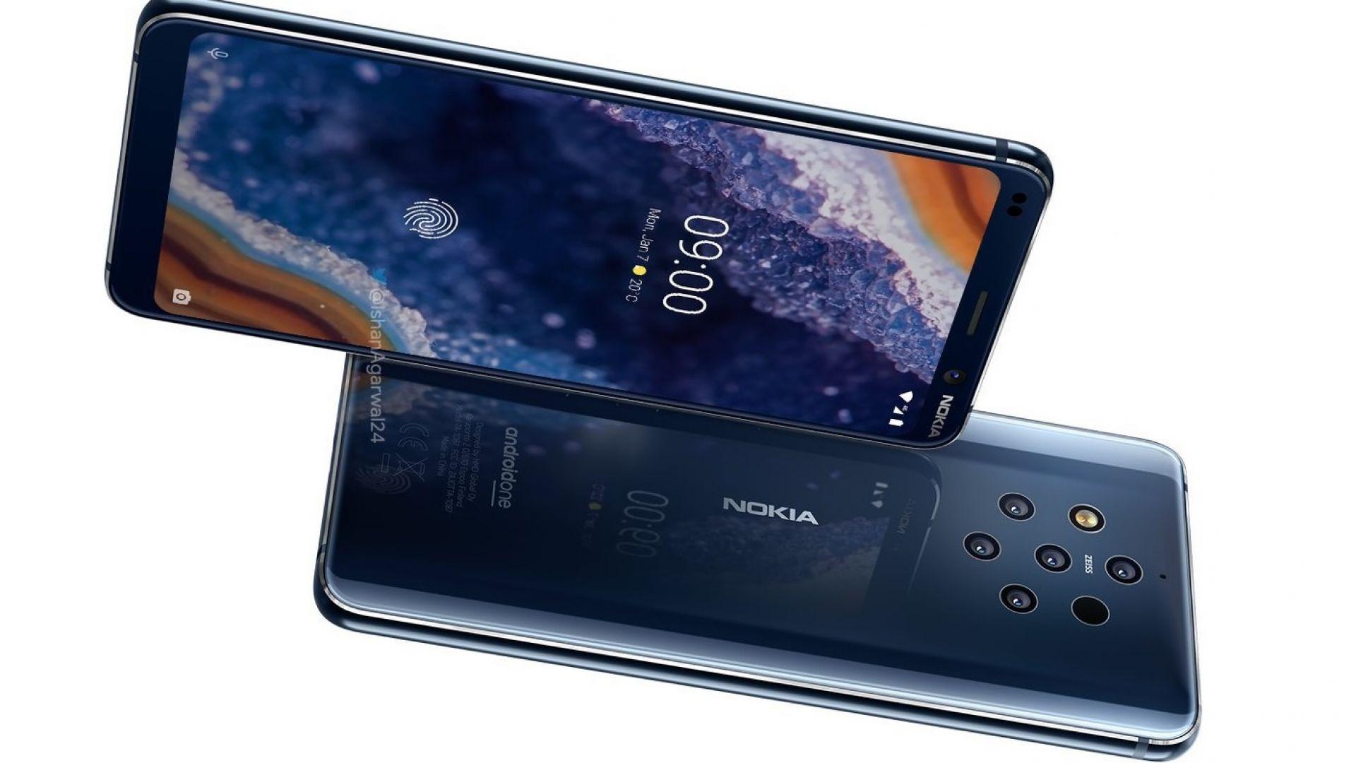 Появиха се нови официални рендъри на Nokia 9 PureView