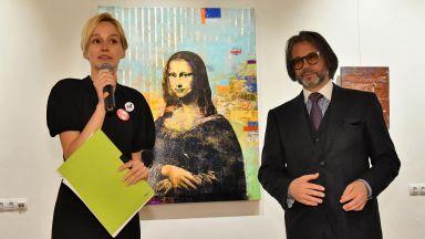 Световноизвестният художник Хубен Черкелов с изложба в галерия Оборище 5