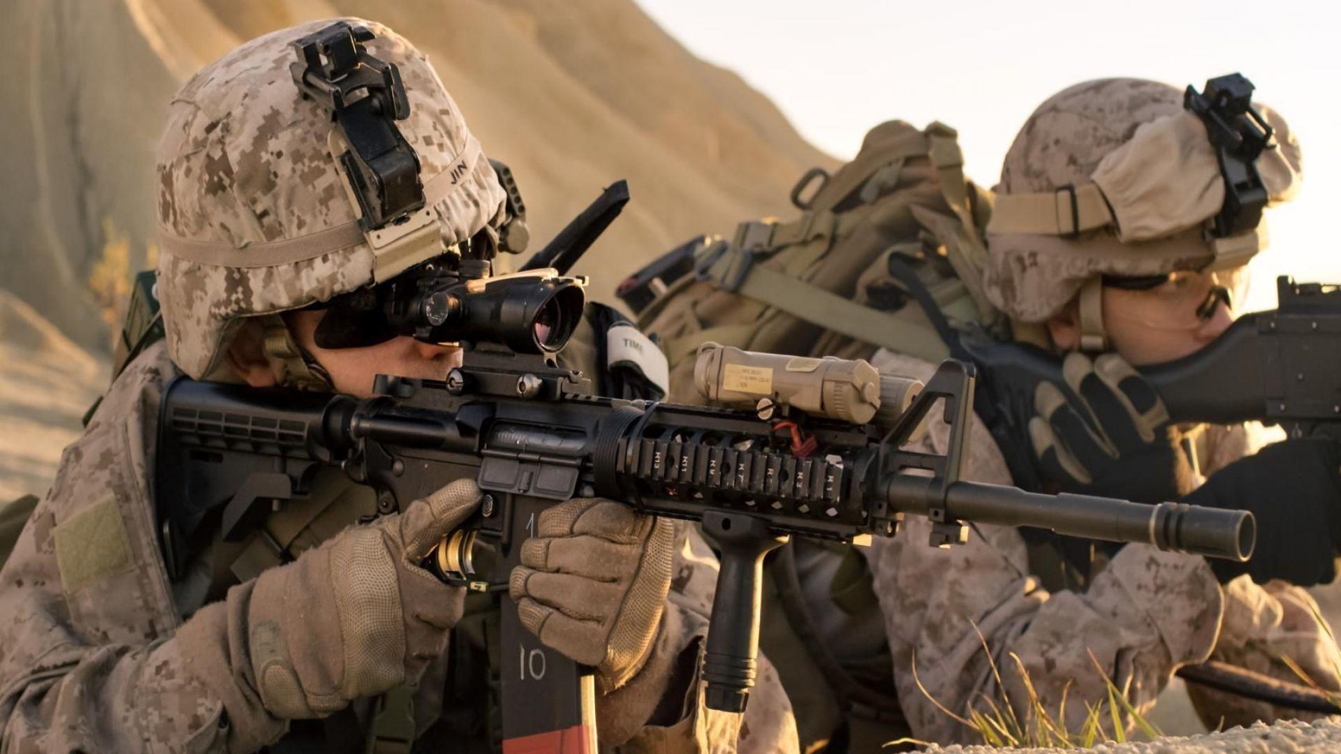 Снимка: 400 американски военни пристигат у нас