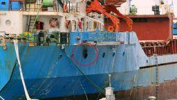 Печка предизвика пожар на арестуван кораб в Бургас