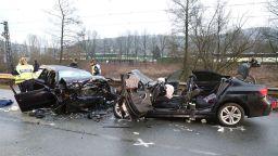 Трима млади българи загинаха в катастрофа в Германия