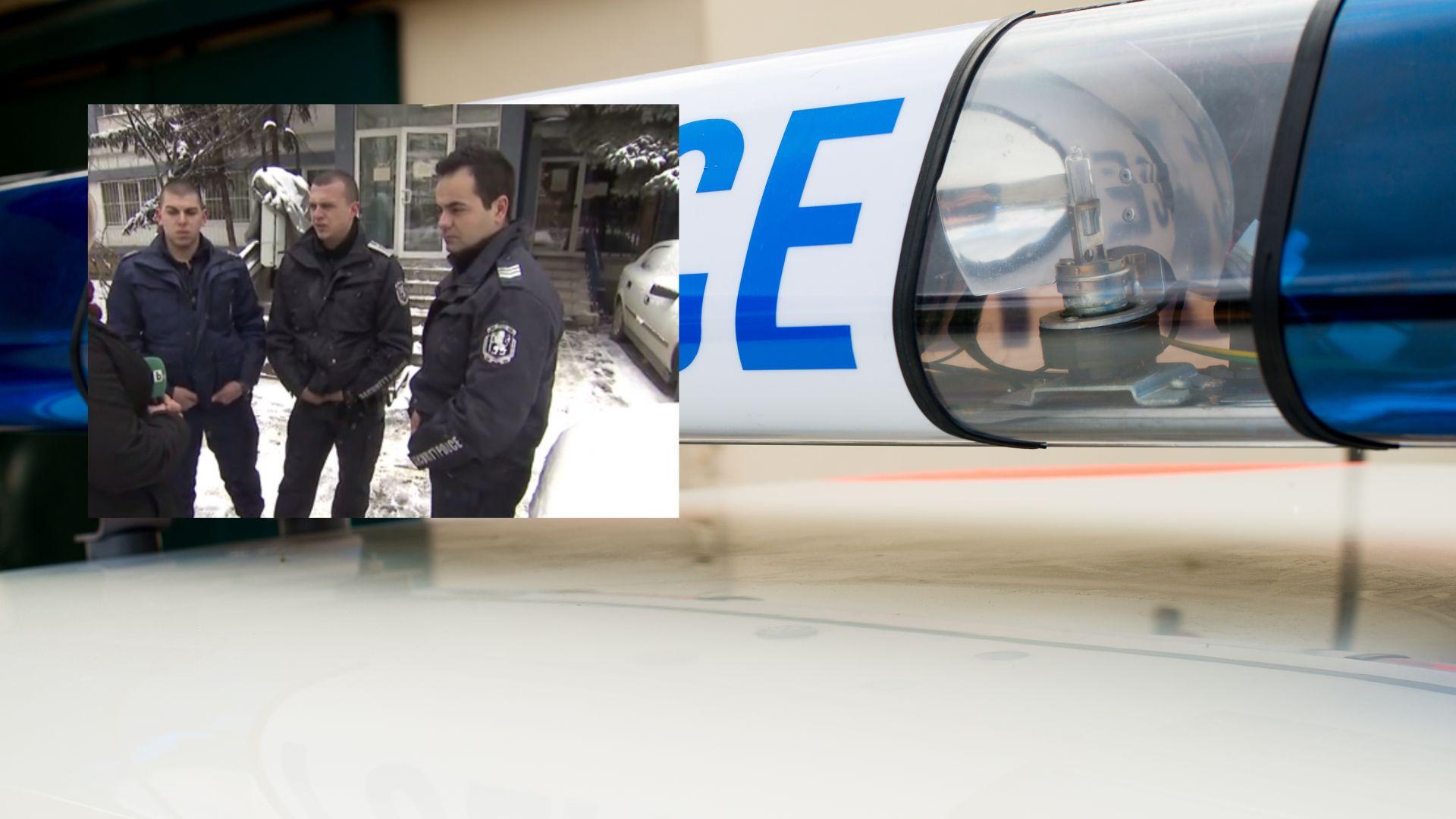 След екшъна с такси: Говорят пострадалите полицаи
