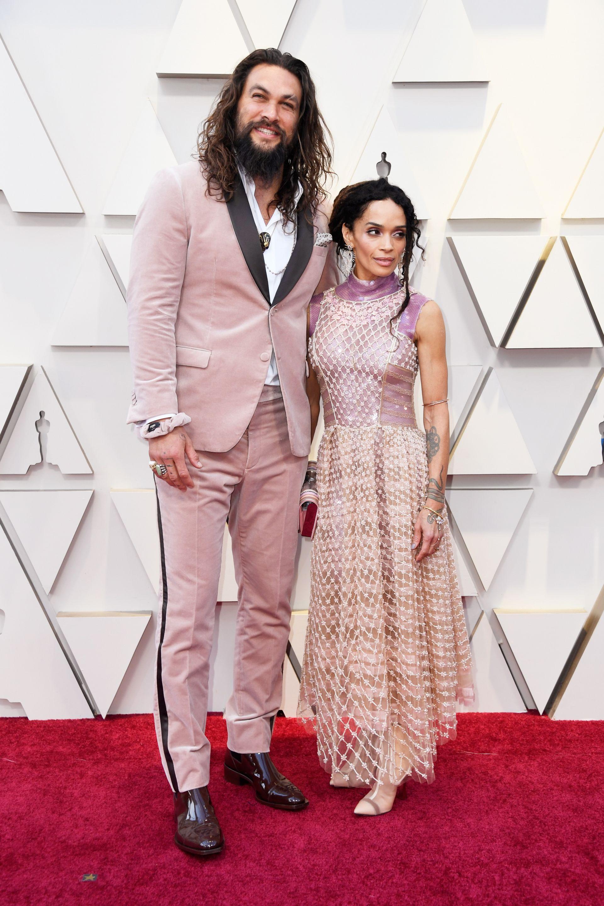 """Джейсън Момоа и Лиза Бонет на """"Оскарите"""" 2019"""