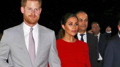 Меган с първа поява на червения килим след сватбата с Хари