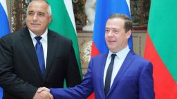 Дмитрий Медведев пристига за среща на 4 очи с Бойко Борисов