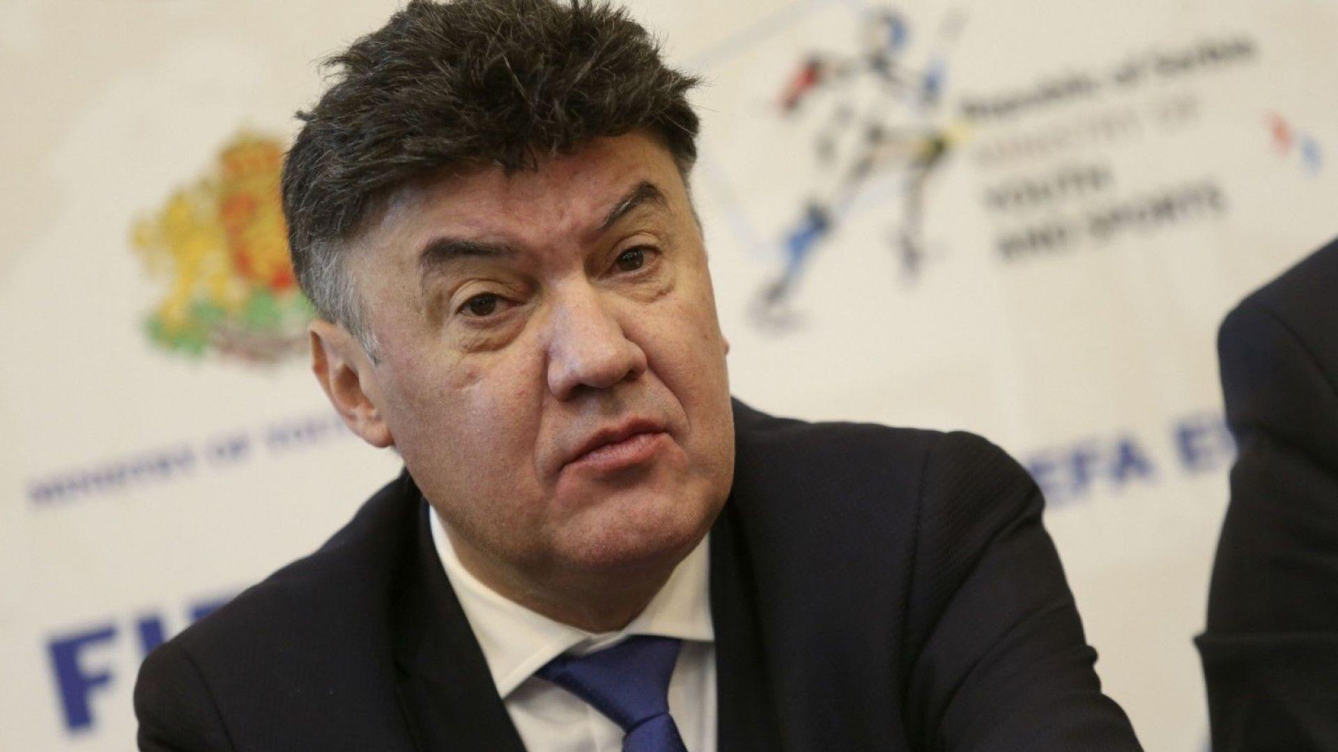 Боби Михайлов към репортери: Довиждане, никой не ви е канил тук