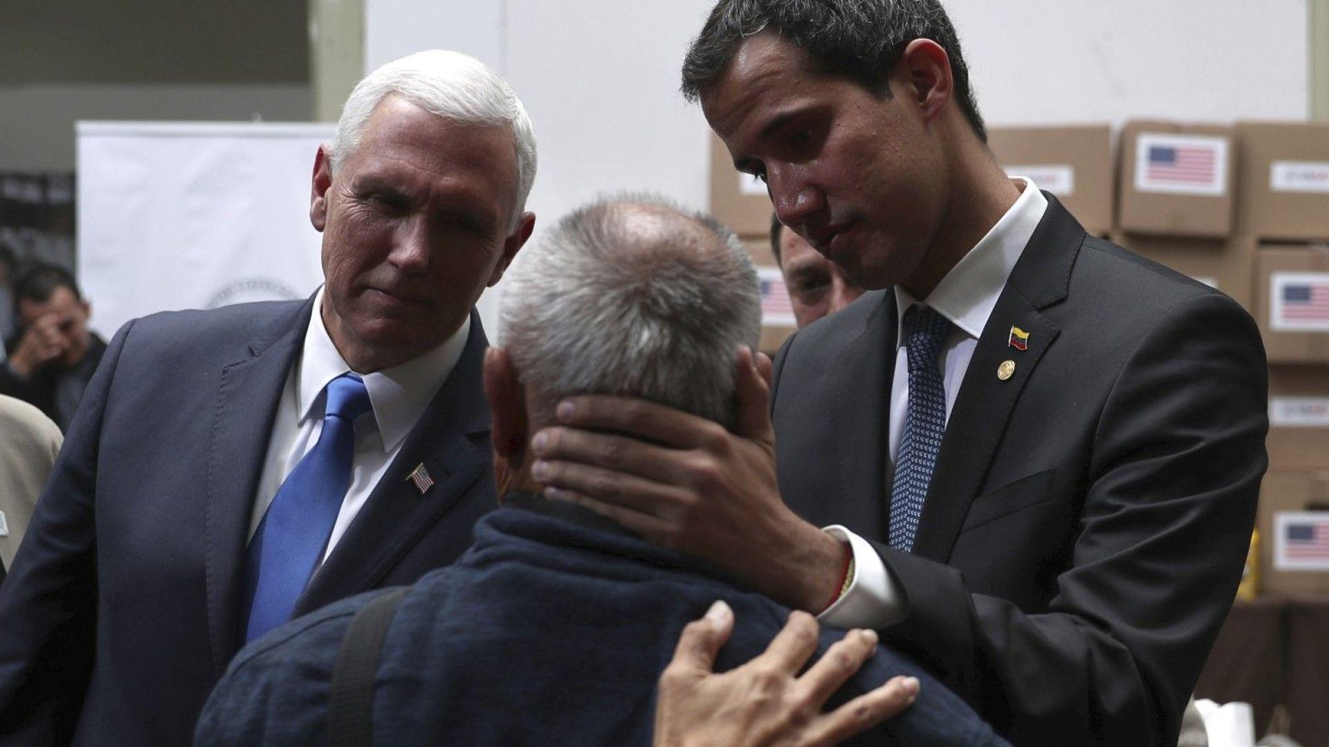 Пенс призова латиноамериканските държави да замразят активите на венецуелската петролна компания