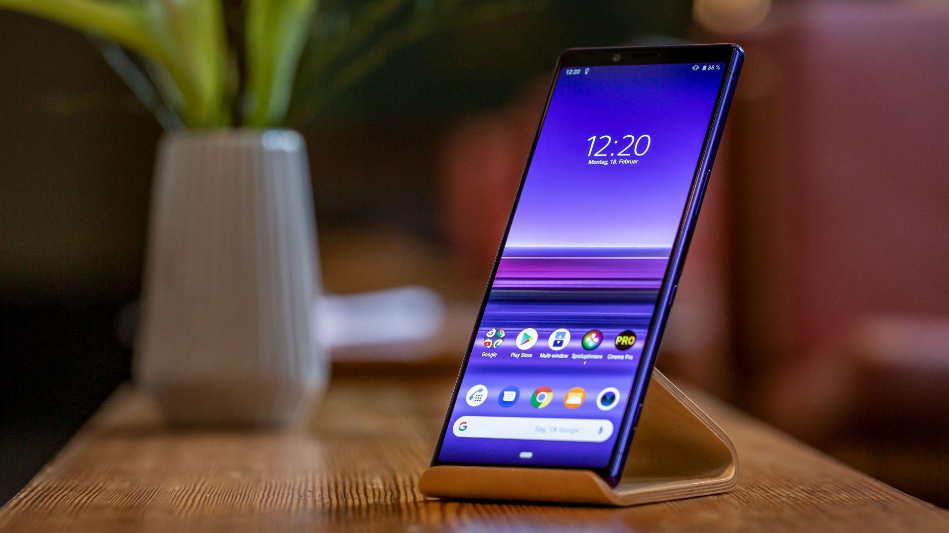 Sony представи най-мощния си смартфон за 2019 година